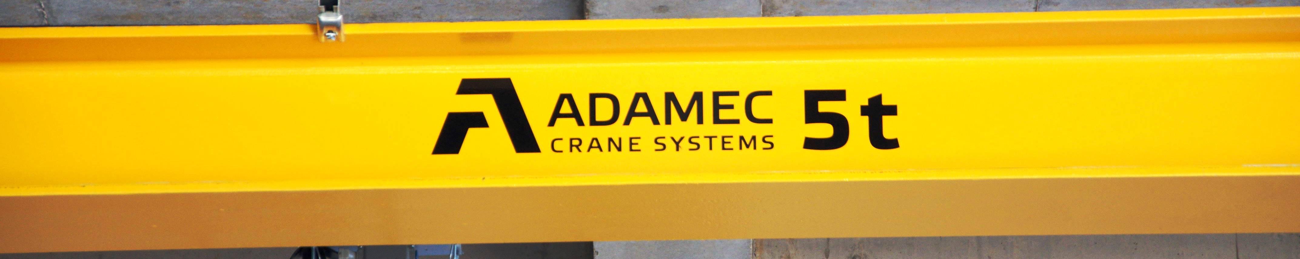 Servis jeřábů zajišťuje firma jeřáby Adamec Crane Systems
