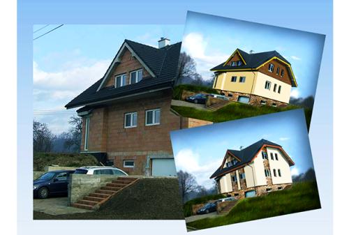 Grafický návrh pro Vaší fasadu