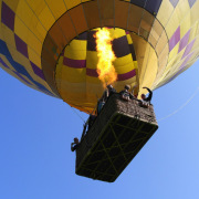 Let balonem – nekrásnější pohled na krajinu