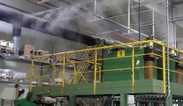 Zamlžovací systémy v průmyslu